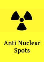 Flyer-Anti-Atom-Spots